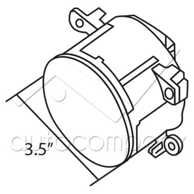 For 2012-2015 Scion FRS Fog Lights w/Wiring Kit & LED