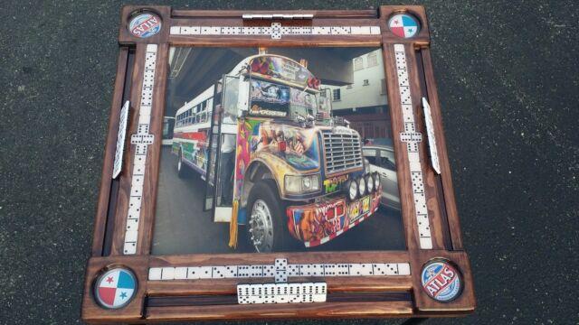 Panama Bus Domino Tables by Art | eBay