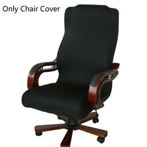 office chair covers ebay club chairs upholstered caveen s m l spandex stretch computer cover fabric back image is loading