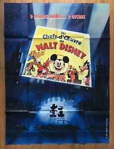Les Chefs D'oeuvre De Walt Disney : chefs, d'oeuvre, disney, Chefs, D'oeuvre, Disney,, Affiche, Originale, Cinéma,, 120x160
