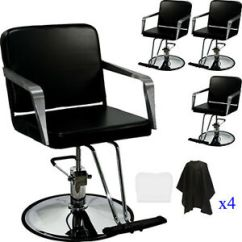 Black Salon Chairs Osaki Massage Chair Dealers 4x Professional Hydraulic Styling Barber Spa Image Is Loading