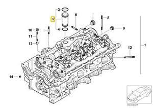 Genuine BMW E46 E60N E81 Ignition Spark Plug Pipe SET 4pcs
