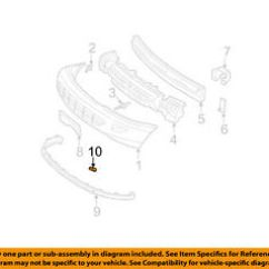 2002 Chevy Cavalier Exhaust System Diagram Create A Venn Comparing Osmosis And Diffusion 02 Wiring All Data Chevrolet Gm Oem Front Bumper Lower Extension Retainer 01