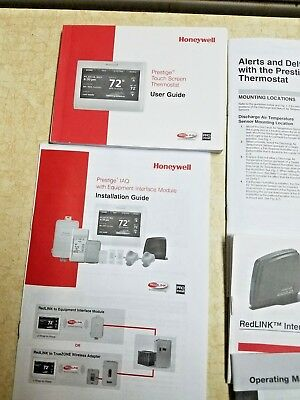 Th9421c1004 Manual : th9421c1004, manual, Honeywell, Prestige, Touchscreen, Thermostat, Guide, Installation, Manual