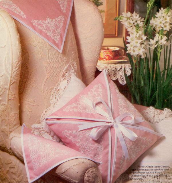 chair arm covers pattern wedding hire nottingham antique lace xs magazine pillow antimacassar