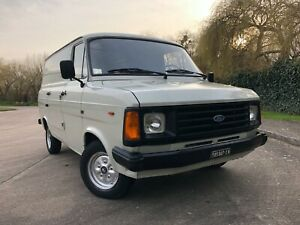 1984 Ford Transit 2.5 Di Overdrive Mk2 Panel Van LHD Barn find NO RESERVE