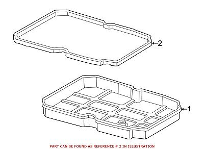 For Mercedes Genuine Automatic Transmission Oil Pan Gasket