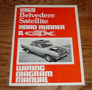 1969 Plymouth Belvedere Satellite Road Runner & GTX Wiring