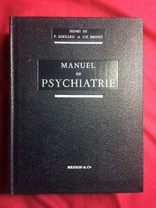 Manuel De Psychiatrie Henri Ey : manuel, psychiatrie, henri, HENRI, BERNARD, BRISSET, MANUEL, PSYCHIATRIE., MASSON