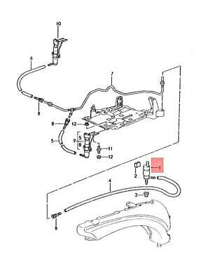 Genuine PORSCHE 911 996 Boxster Pump For HeadlightWasher