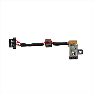 DC POWER JACK HARNESS SOCKET w/ CABLE For Dell XPS 13 9343