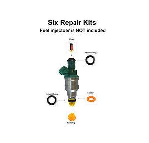 Fuel Injector Service Repair Kit (004) fits BMW 323 325 M3