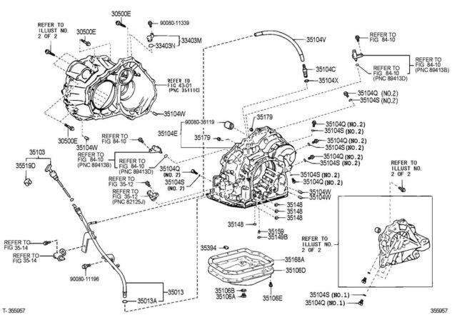 Toyota Auto Gearbox Transmission U151e U151f U660e Service