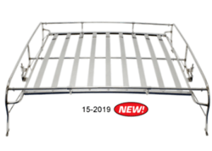 Stainless Steel Knock Down Roof Luggage Rack, VW Type 1