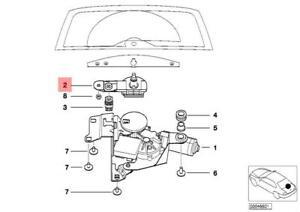 Genuine Wipershaft Pivot BMW E46 316i 318d 318i 320d 320i