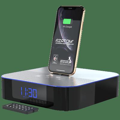 Bluetooth Speaker Alarm Clock Ipad Ipod