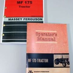 Massey Ferguson 175 Parts Diagram With Inputs And Outputs Of Photosynthesis Process Mf Tractor Owners Operators Manual Catalog Image Is Loading