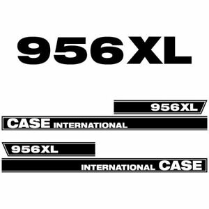 Case International 956 XL tractor decal aufkleber sticker