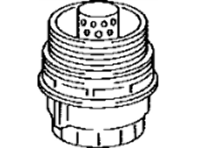 Toyota Oil Filter Cap Assembly Camry Highlander Rav4 15620
