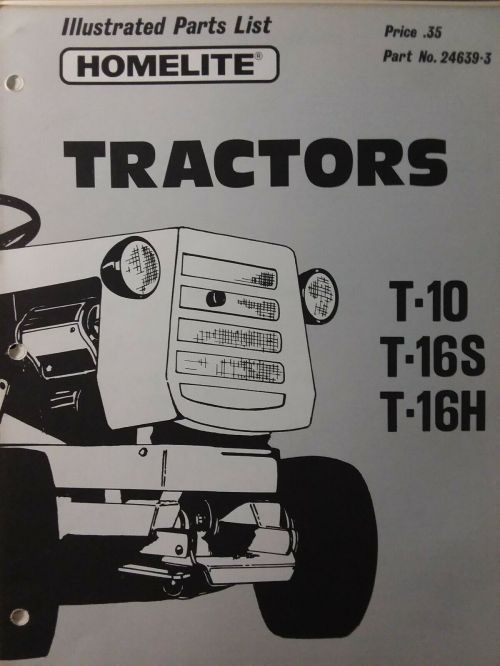 small resolution of homelite t 16 lawn mower garden tractor parts or restore simplicity 3416 for sale online ebay