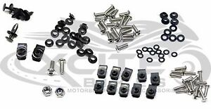 Fairing bolts kit, stainless steel, Honda CBR600F3 1995
