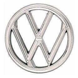 VW BUG VINTAGE EMBLEM FRONT HOOD Nameplate 1960-79 BEETLE