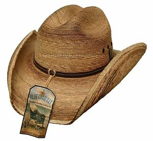 kenny chesney blue chair bay hats metal chairs uk western cowboy hat cattleman straw leather palm image is loading