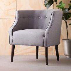 Tub Accent Chair White Plastic Outdoor Rocking Chairs Davidson Design Upholstered Ebay Image Is Loading