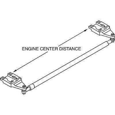 Teleflex HO5008A Mercury Outboard Engine Tie bar Kit 89