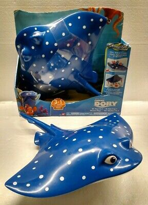 Disney Finding Nemo Dory Mr Ray Stingray 3 In 1 Playset Storage Case Lot Of 2 Ebay