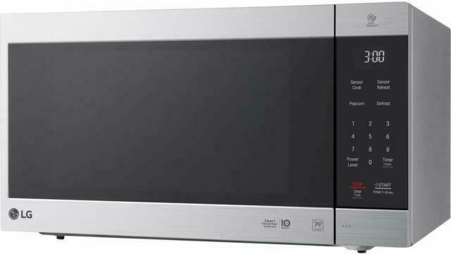 lg lmc2075st 1200w countertop microwave stainless steel