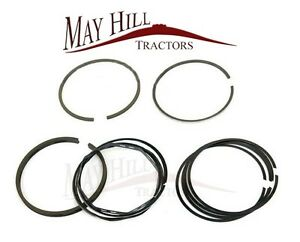 Fordson Dexta Tractor Piston Ring Set (One cylinder