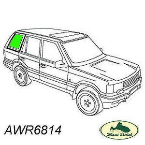LAND ROVER REAR QUARTER GLASS WINDOW RH RANGE P38 95-98