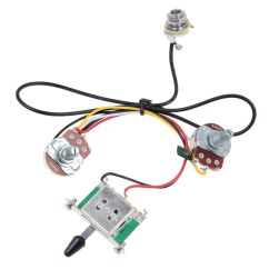 Dragonfire Pickup Wiring Diagram Car Steering Two Guitar Harness 3 Way Blade Switch 500k