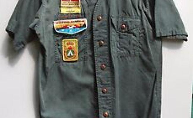 Explorer Scout Uniform Shirt Jamboree Wide Game Oa 423