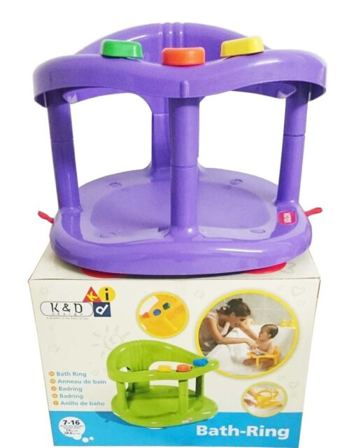baby chair bath office desk floor mats keter infant tub ring safety seat anti slip durable color purple fast shipping from usa new in box