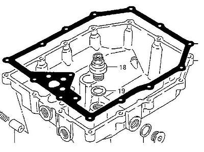 Sump Gasket from Athena for Suzuki GSF 1200 Bandit from