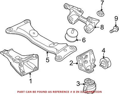 Genuine OEM Manual Transmission Mount Bracket for BMW