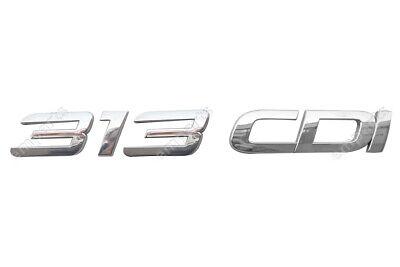 Mercedes Sprinter 313 CDI Badge Emblem Rear Door Self