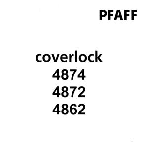 PFAFF Coverlock 4862 4872 4874 Owner's Handbook PDF