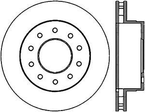 C-TEK Standard Rotor fits 2005-2015 Ford F-450 Super Duty
