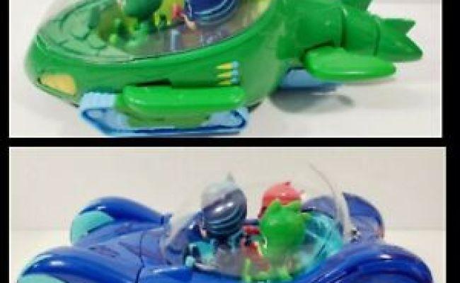 PJ Masks U PICK Blue CAT-Car Green GEKKO-Mobile ROMEO/'S Lab//Figure Howler Wolfie