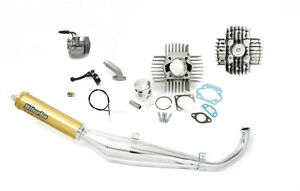 Tomos A35 Moped 70cc Performance Cylinder & Exhaust