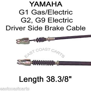 Yamaha G1 Golf Cart or G2, G9 Electric DRIVER SIDE Brake