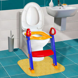 potty chair with ladder jungle animal chairs trainer toilet seat kids toddler step up image is loading
