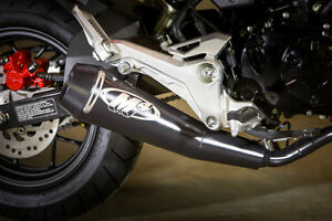details about m4 exhaust honda grom 125 2017 18 19 20 gp full system free shipping