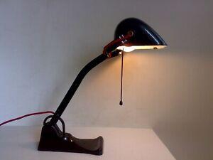 20er jahre aly tischlampe bankerlampe
