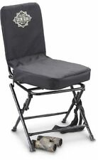 best hunting chair blind office for 8 hours guide gear 360 silent swivel seat folding portable black