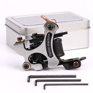 Alloy Coil Tattoo Machine Tattoo Coil Gun 10 Wrap Copper
