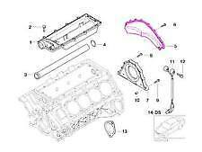 BMW Updated N63 Rear End Coolant Cover Engine Block